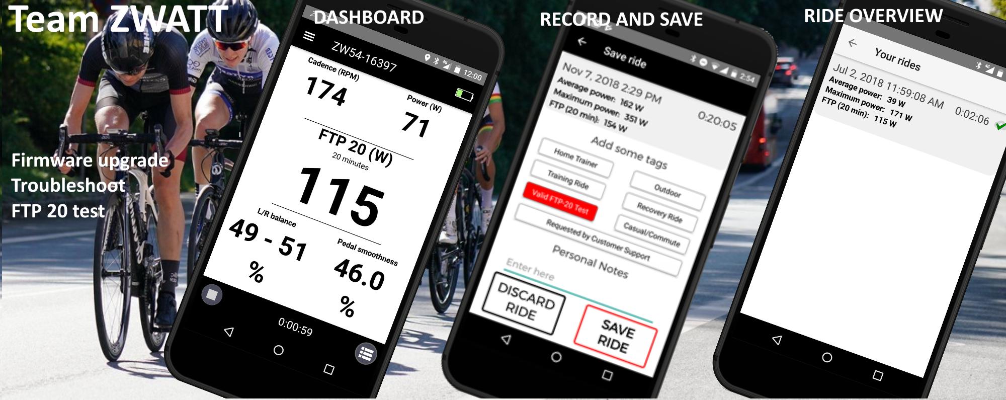 Power meter smartphone app